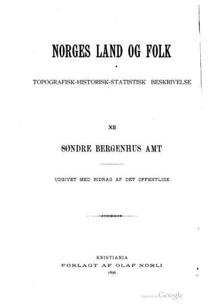 File:Norges land og folk - Søndre Bergenhus amt.djvu