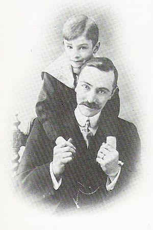 Norman Warne - Norman Warne and his nephew Fred, ca. 1900