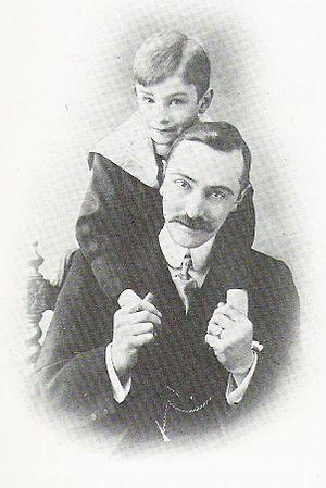 Photo of Norman Warne ca 1900