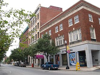 Downtown Fall River Historic District - North Main Street