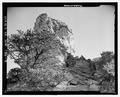 North side, looking south - Pointed Butte Pueblito, Cibola Canyon, Dulce, Rio Arriba County, NM HABS NM-186-3.tif