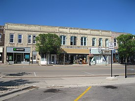 North side of Fulton Street, Edgerton, WI.JPG