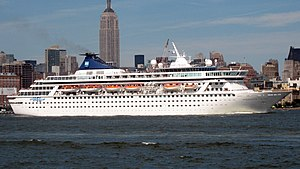 MV Balmoral (1987) - Norwegian Crown at New York City, New York on July 22, 2007.