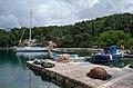 Norwegian Lady II sailing vessel and local fishing boat, moored at Kobaš Bay, Croatia (PPL3-Altered) julesvernex2.jpg