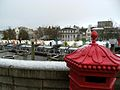 Norwich Market and Castle from City Hall 22 November 2008.jpg