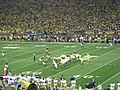 Notre Dame vs. Michigan football 2013 10 (ND on offense).jpg