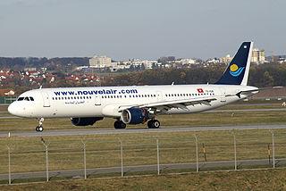 Avion de Nouvelair Tunisie