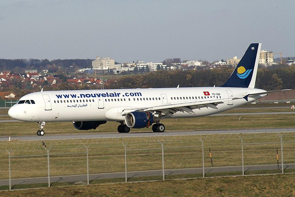 Nouvelair A321 TS-IQB