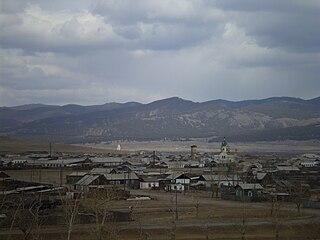 Novoselenginsk rural locality in Buryatia, Russia