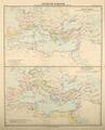 Nr. 26. Die Entwicklung des römischen Reiches bis auf Caesar. Das römische Reich beim Tode Augustus.png