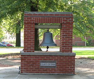 Northwest Missouri State University - Class of 1948 bell