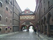 Ny Carlsberg gate inside 2004-07