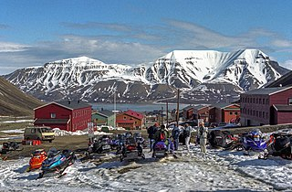 Place in Svalbard, Norway