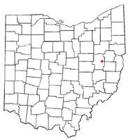 Location of Barnhill, Ohio