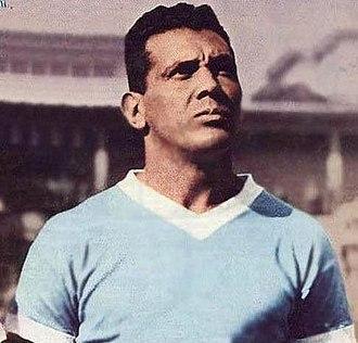 Obdulio Varela - Varela with the Uruguay national team