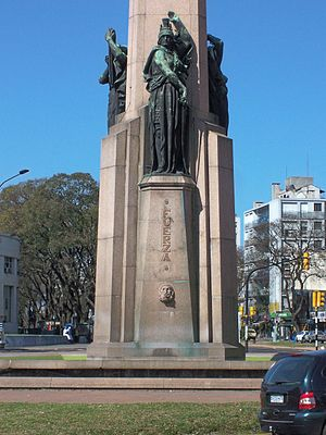 José Luis Zorrilla de San Martín - Monument to the Constitution of 1830, Montevideo
