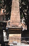 Obelisk (Francis Greenway), Macquarie Place, Sydney - Wiki0032.jpg