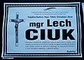 Obituary of Lech Ciuk in Sanok.jpg