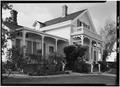 October 1960 SOUTHEAST CORNER ELEVATION - Finch-Fleischer House, 410 Monroe Street, Monterey, Monterey County, CA HABS CAL,27-MONT,41-2.tif