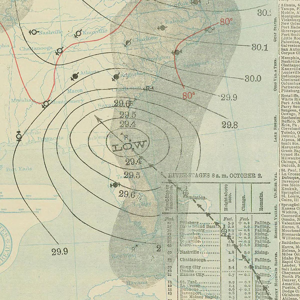 Georgia Hurricane Wikipedia - Georgia map hurricane