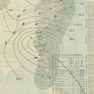 1898 Georgia hurricane Category 4 Atlantic hurricane in 1898
