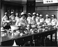 Ohio State Normal College domestic science class in cooking classroom 1913 (3200527454).jpg