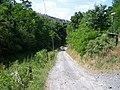 Ohrobecké údolí, cesta pod zastávkou Jarov.jpg