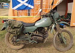 Old Armstrong military motorcycle.JPG