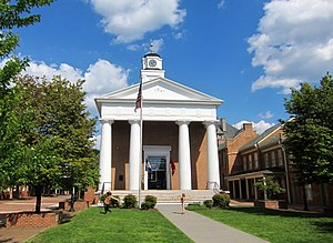 Frederick County, Virginia - Image: Old Frederick County Courthouse 1