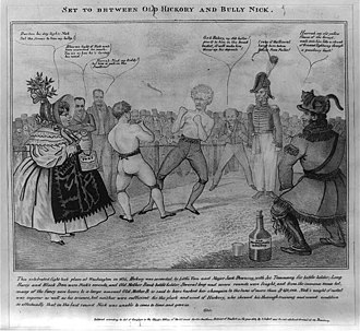Bank War - Image: Old Hickory and Bully Nick
