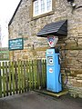 Old Petrol Pump outside The Plough Inn, Ford - panoramio.jpg