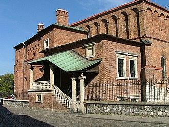 Kazimierz - Renaissance Old Synagogue (Kraków).