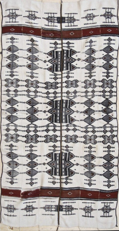 Old Traditional Fulani Blanket - courtesy WOVENSOULS COLLECTION