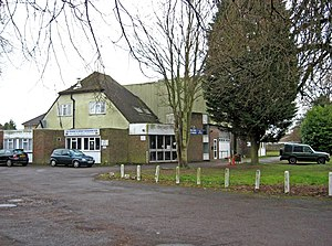 Westfield, Woking, Surrey - Image: Old Woking and District Recreation Club, 33 Westfield Road geograph.org.uk 1757885