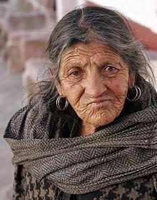 Ein alter Mensch