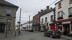 Businesses on the Square in Oldcastle
