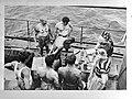 Onderzeeboot Hr. Ms. O21. Neptunus festival bij het passeren van de evenaar. V, Bestanddeelnr 935-0332.jpg