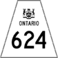 Highway 624 shield