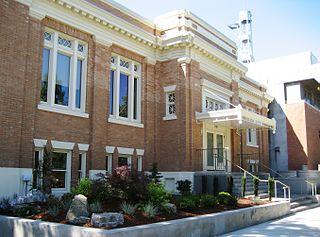 Oregon Civic Justice Center Building on the Willamette University campus in Salem, Oregon, U.S.
