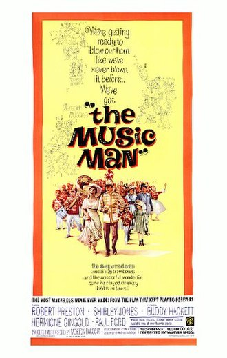 The Music Man (1962 film) - Movie poster by Bill Gold