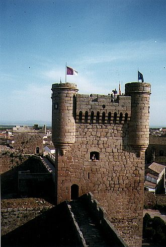 Oropesa, Spain - Image: Oropesa square tower