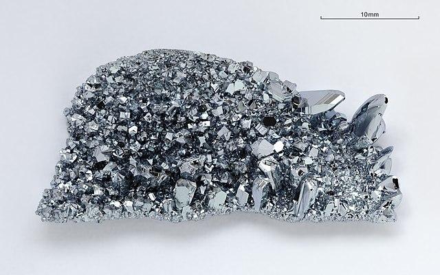 Osmium Kristalle image source