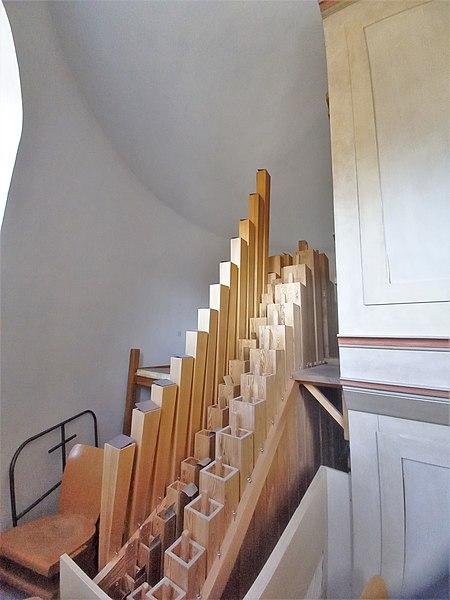 Datei:Ottobrunn, Kath. St. Otto (Kerssenbrock-Orgel, Pfeifenwerk) (14).jpg