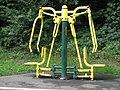 Outdoor exercise machine at Bathpool Park - panoramio.jpg