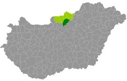 pásztó térkép Pásztó District   Wikipedia pásztó térkép