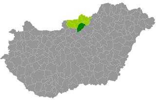 Pásztó District Districts of Hungary in Nógrád