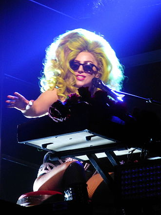 """Lady Gaga Live at Roseland Ballroom - Gaga began the residency with an acoustic performance of """"Born This Way"""""""