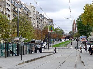 thoroughfare in Paris, France