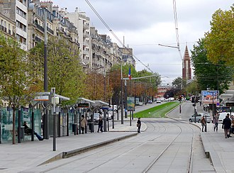 Boulevards of the Marshals - Boulevard Lefebre