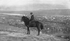 P306 Krasoyarsk from the Western hill. Mr Gadalov at horseback.jpg